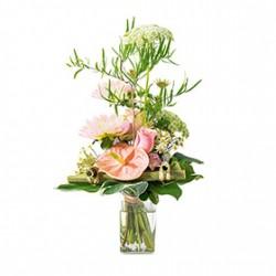 Bouquet en hauteur
