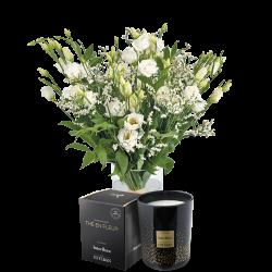 Plumetis et sa bougie parfumée Esteba