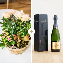 Coin de paradis et son champagne Devaux